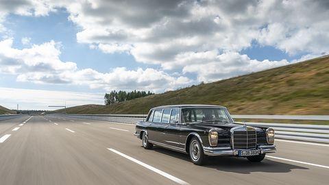Mercedes 600 der Baureihe W 100