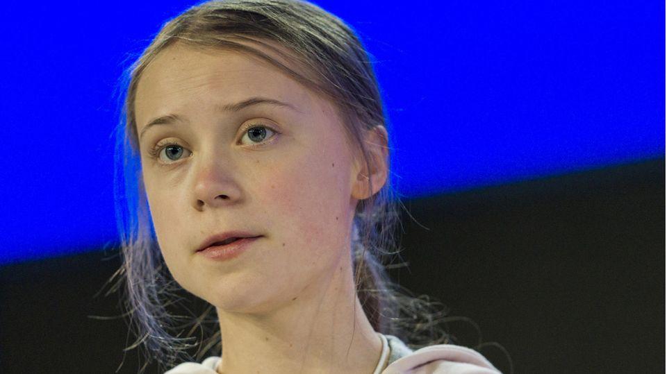 Klimaaktivistin Klima Thunberg
