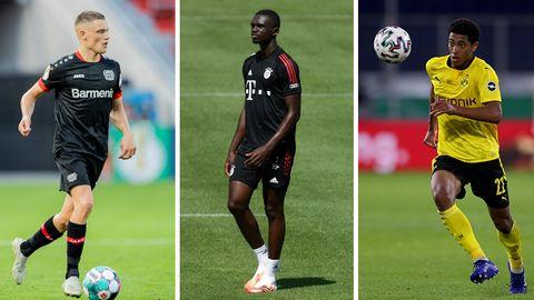 Bundesliga-Talente: Florian Wirtz, Tanguy Nianzou, Jude Bellingham