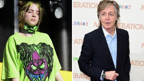 Klimawandel Billie Eilish Paul McCartney