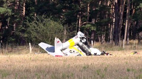 Nachrichten aus Deutschland – Absturz eines Kleinflugzeugs in Brandenburg an der Havel