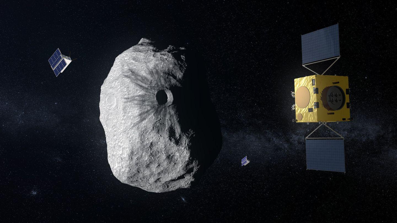Esa-Sonde Hera am Asteroiden Didymos