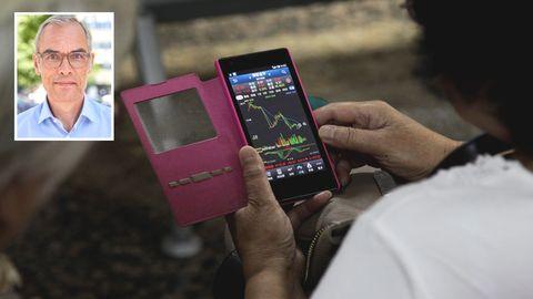 Aktienhandel findet vermehrt über Smartphones statt