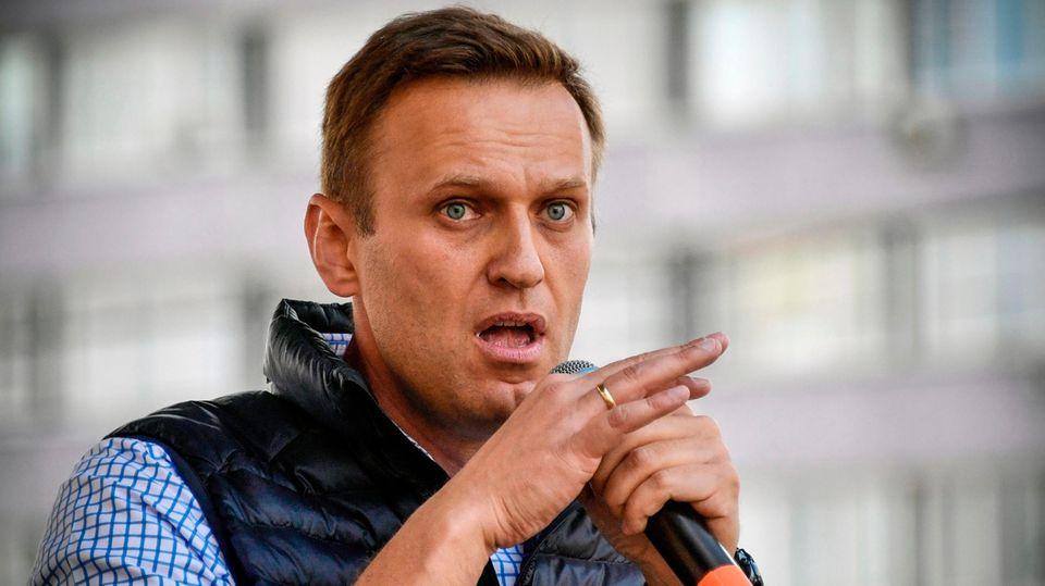 """Im Kreml nennt man Alexej Nawalny für gewöhnlich """"der Patient"""" oder """"der Bürger"""""""