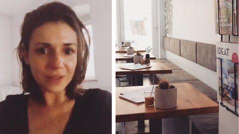 Jennifer Niebling (links) berichtet in Ihrer Instagram-Story über ihre Situation als Café-Betreiberin in Würzburg in Zeiten der Corona-Pandemie.
