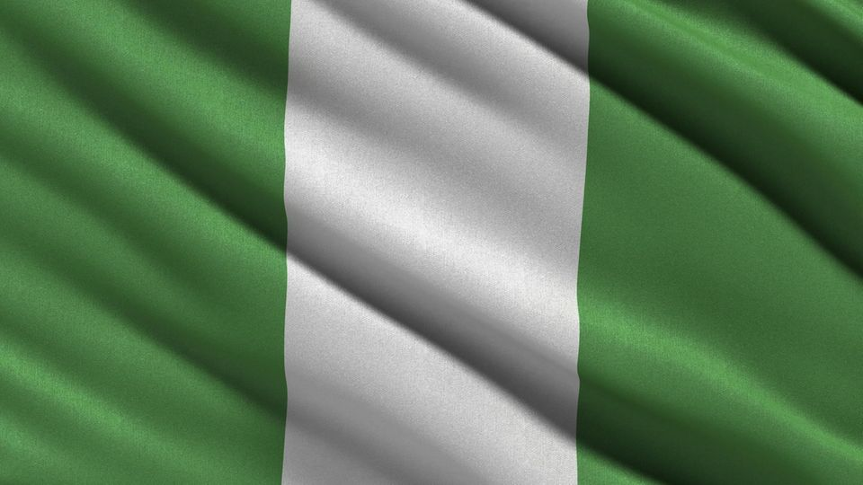 Nationalflagge von Nigeria