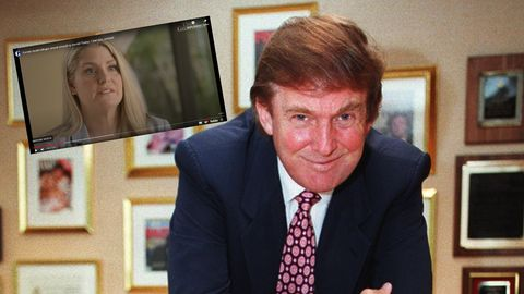 Amy Dorris; Donald Trump