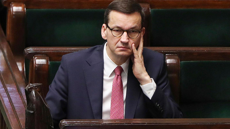 Der polnische Ministerpräsident Mateusz Morawiecki