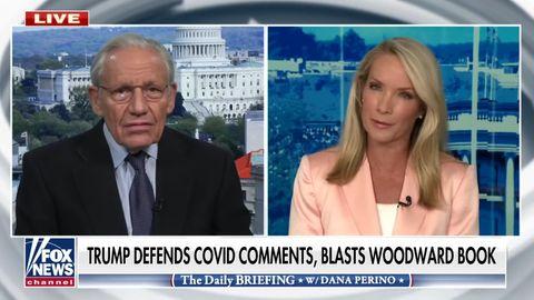 Bob Woodward zu Gast bei Fox-News-ModeratorinDana Perino