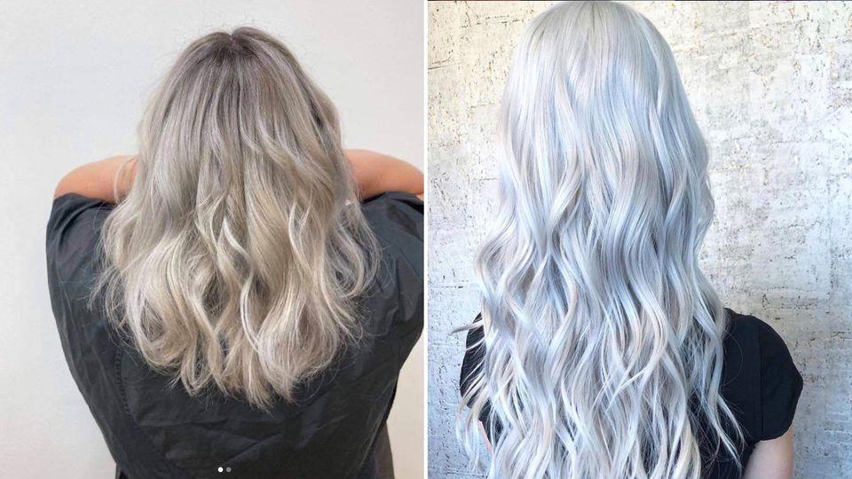 Titanium Silver: Das ist die Trend-Haarfarbe für die goldene Jahreszeit