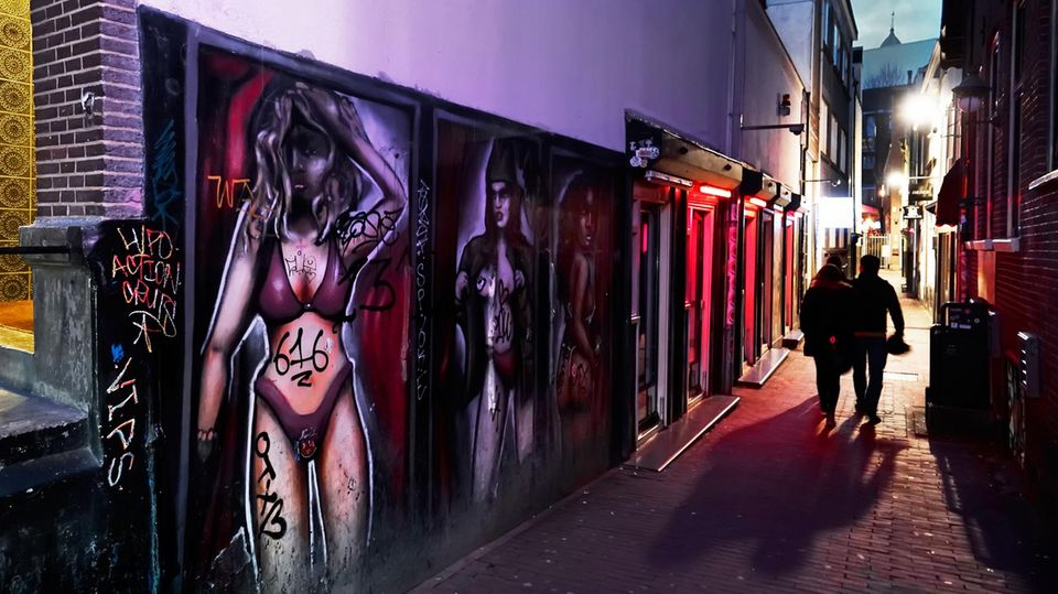 In Amsterdams RotlichtviertelDe Wallen