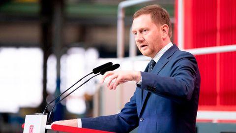 Der sächsische MinisterpräsidentMichael Kretschmer
