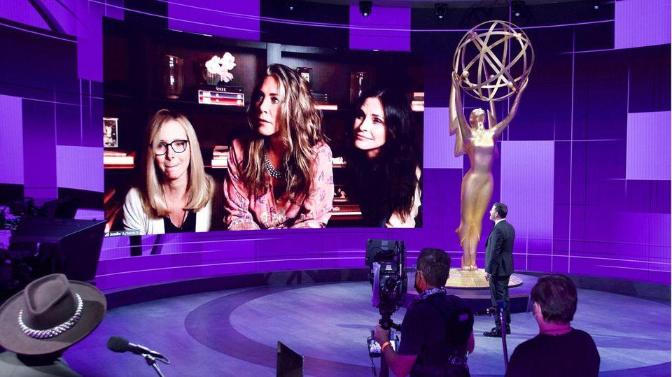 Die Emmy Awards konnten dieses Jahr aufgrund der Coronavirus-Pandemie nur viertuell stattfinden