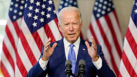 Joe Biden, Präsidentschaftskandidat der US-Demokraten