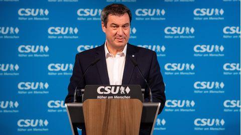 Markus Söder, CSU-Vorsitzender und Ministerpräsident von Bayern