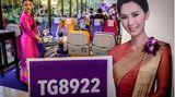 Der Flug mit der Nummer 8922 von Thai Airways verspricht ein ganz besonderes Erlebnis...