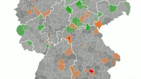 Verbreitung des Coronavirus in Deutschland