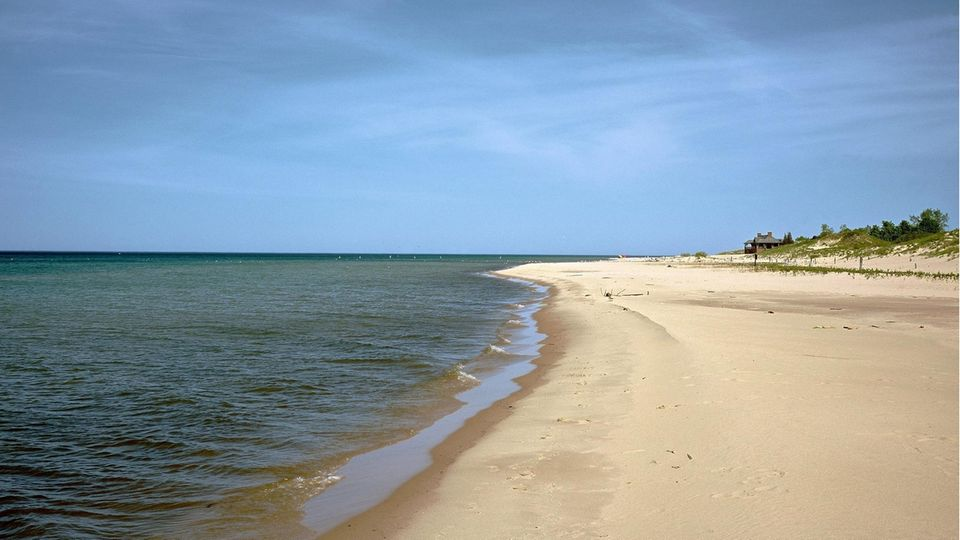 Ein Strand am Lake Michigan (Archivfoto)