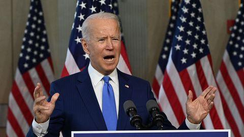 Der demokratische US-Präsidentschaftskandidat Joe Biden