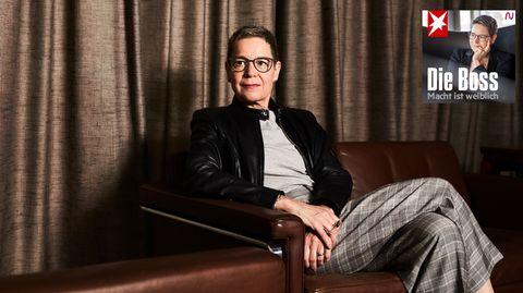 """""""Die Boss""""-Gastgeberin und Ex-Lufthansa-Finanzvorständin Simone Menne"""