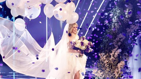 Theresia Fischer heiratete 2019 im GNTM-Finale