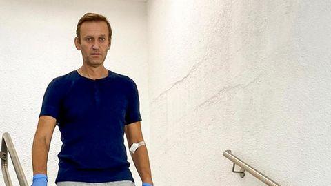 Dieses Foto stammt aus einem Video, das der russische Kremlkritiker Alexej Nawalny auf seinem Instagram-Account veröffentlicht hat