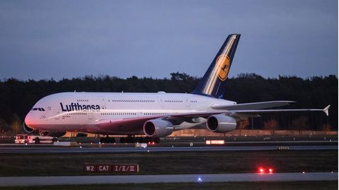 A380 der Lufthansa