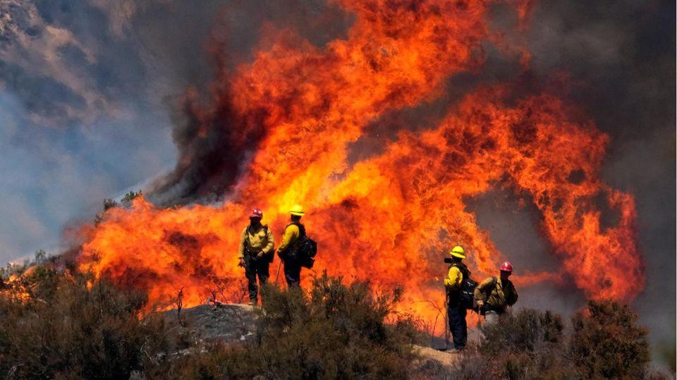 Feuer in Südkalifornien