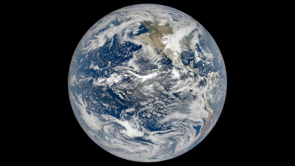 Satellitenbild der Erde