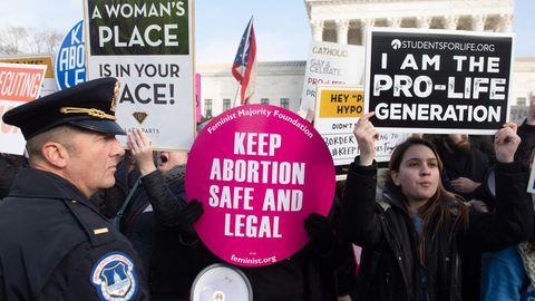 Protest Abtreibung
