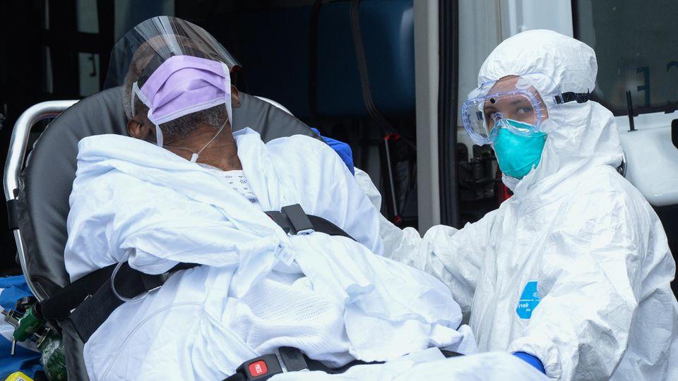 Corona-Patient in New York wird verlegt