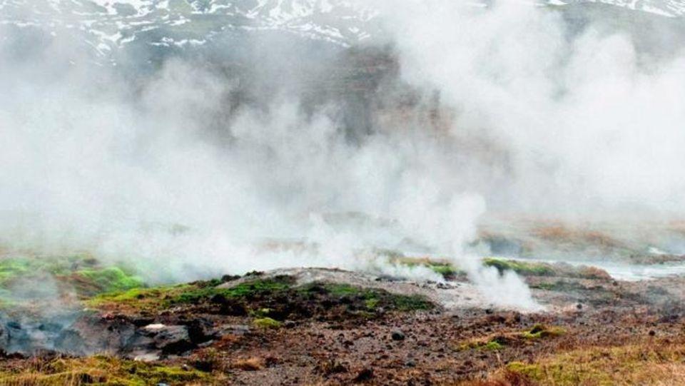 Eine Geotherme