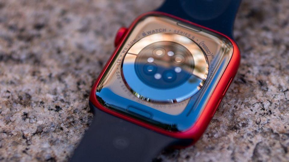 Die Apple Watch Series 6 hat einen neuen Infrarot-Sensor