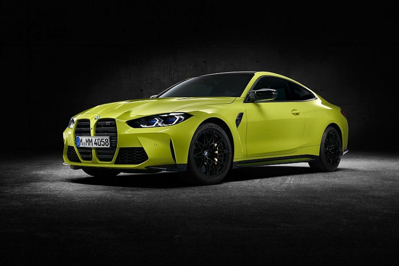 """Wie beim """"Normalo-Bruder"""" ist die Niere auch beim BMW M4 Coupé sehr dominant"""