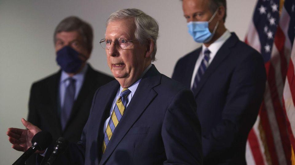 Der Mehrheitsführer der Republikaner im Senat, Mitch McConnell