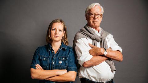 Annemarie Botzki und Thilo Bode