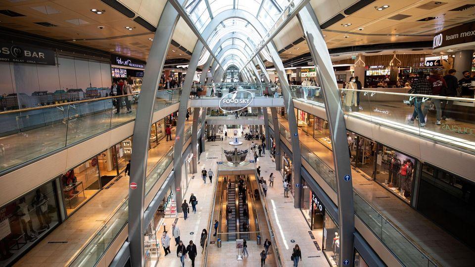 Ein Einkaufszentrum