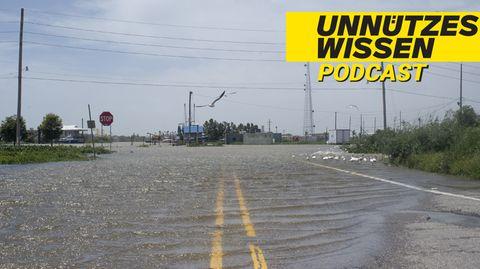 US-Bundesstaat Louisiana wird überflutet
