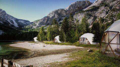 Trend Ökotourismus: Die Öko-Lodges des französischen Architekturbüros Fugu.