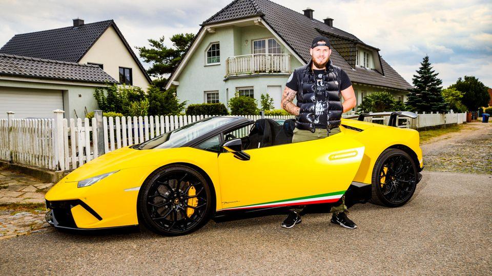Lamborghini vor der Tür: Die Nachbarn hielten ihn für einen Dealer – Philip Geißler verdient auf Youtube Hunderttausende
