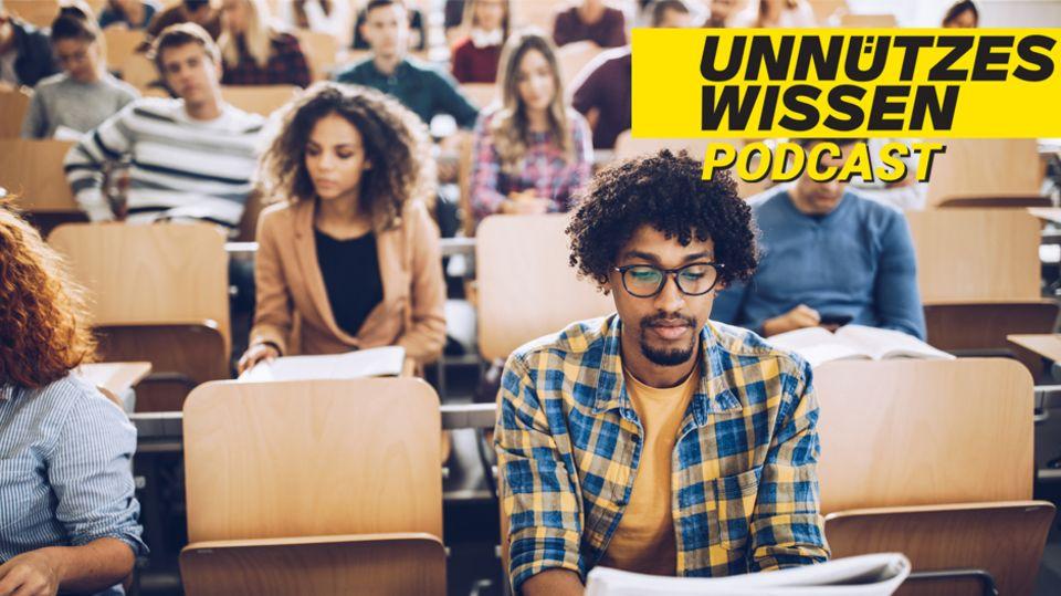 Unnützes Wissen über das Studium