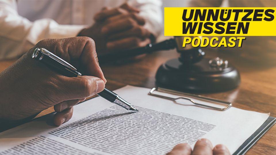Unnützes Wissen zum Thema Recht