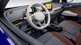 Das Cockpit ist größtenteils identisch zu dem des ID.3