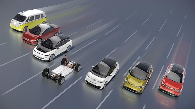 Der ID.4 ist Teil einer VW Elektromodell-Offensive
