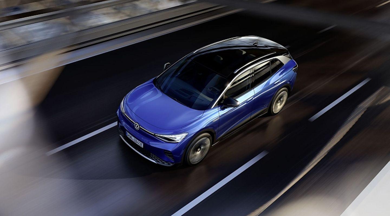 Der VW ID.4 ist bis zu 160 km/h schnell