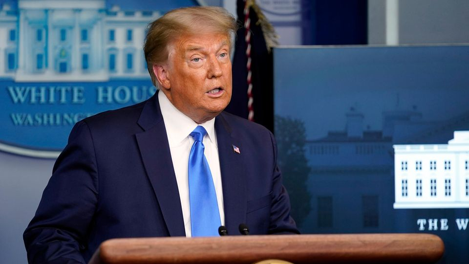 US-Wahl - Trump zu friedlicher Machtübergabe