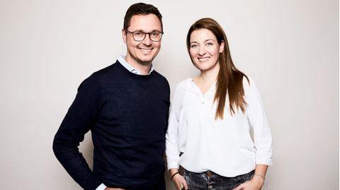 Die stern-Chefredakteure Anna-Beeke Gretemeier und Florian Gless