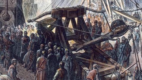 Eine Darstellung aus dem Beginn des 20. Jahrhunderts: So stellte sich ein zeitgenössischer Maler die Belagerung Jerusalems vor