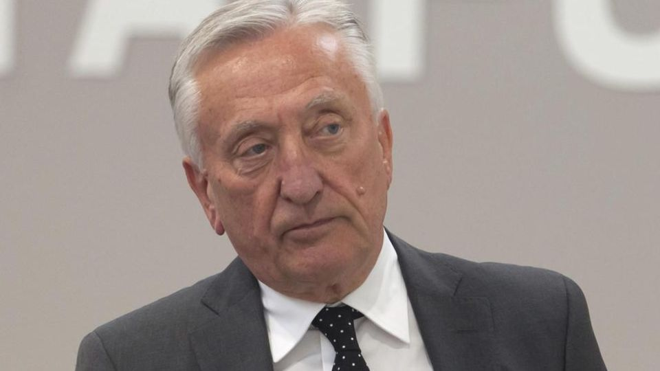 Gerhard Weber, hier im Jahr 2012 in Düsseldorf