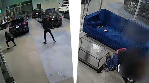 Polizeivideo: Vater rettet seine Kinder während Schießerei – wird von Kugel getroffen